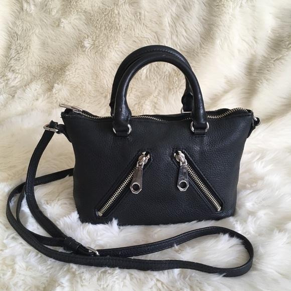 Rebecca Minkoff Handbags - Rebecca Minkoff Micro Moto Crossbody Bag